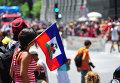 Флаг Гаити. Архивное фото