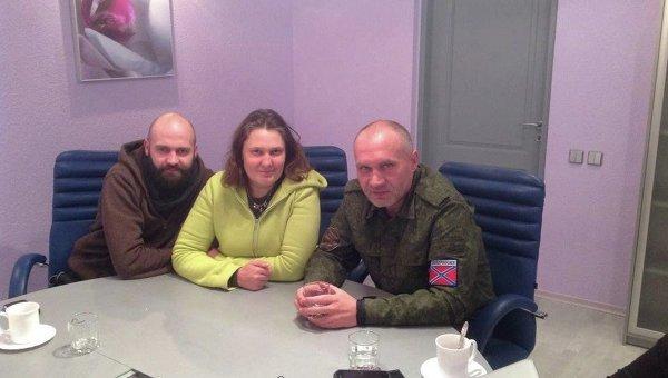 Татьяна Монтян в Луганске