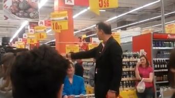 Ляшко в магазине оговорился по Фрейду. Видео