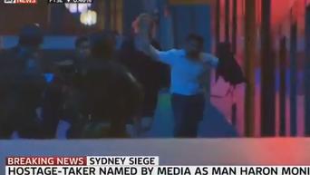 Прямая трансляция с места событий в Сиднее. Видео