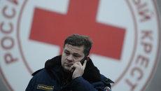 """Московский """"Красный Крест"""" отправил гуманитарную помощь в Луганск"""