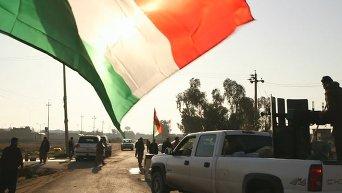 Курдские отряды пешмерга обнаружили массовые захоронения в Джалавле. Видео