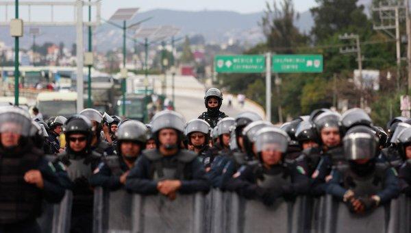 Полиция Мексики. Архивное фото