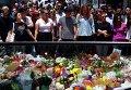 Мероприятия по почтению памяти погибших в Сиднее