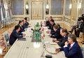 Встреча с главами МИД Вышеградской четверки. Архивное фото