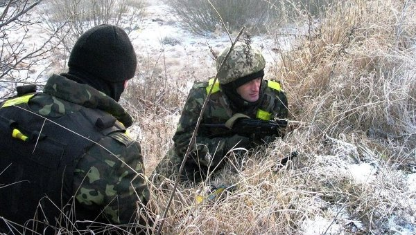 Занятия по восстановлению боеспособности подразделений высокомобильных десантных войск ВСУ
