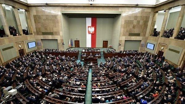 Парламент Польши. Архивное фото