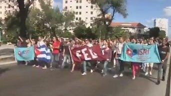 Реакция кубинцев на нормализацию отношений Острова Свободы с США. Видео