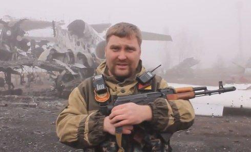 Ополченец батальона Восток о ситуации в аэропорту Донецка. Видео