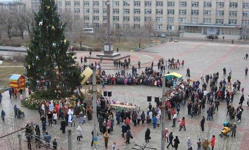 Главная елка Луганской области