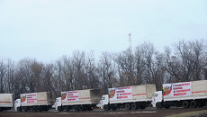 Десятый российский гуманитарный конвой для Донбасса формируется в Ростовской области