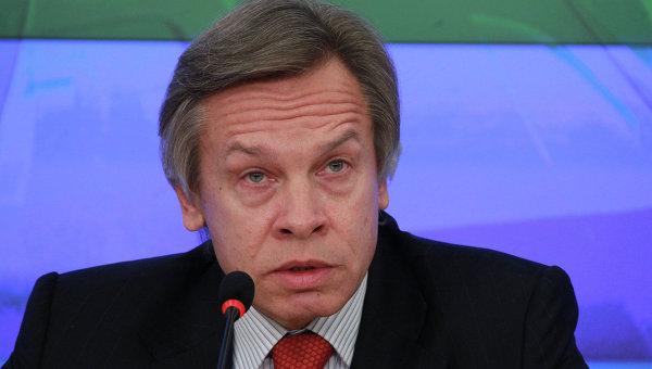 Председатель комитета Государственной Думы РФ, депутат Алексей Пушков