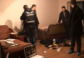 Оперативная съемка с места задержания убийцы 3 сотрудников МВД в Киеве