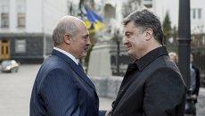 Переговоры Петра Порошенко и Александра Лукашенко, в Киеве
