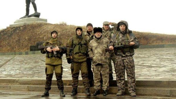 Эдуард Лимонов в Славяносербске