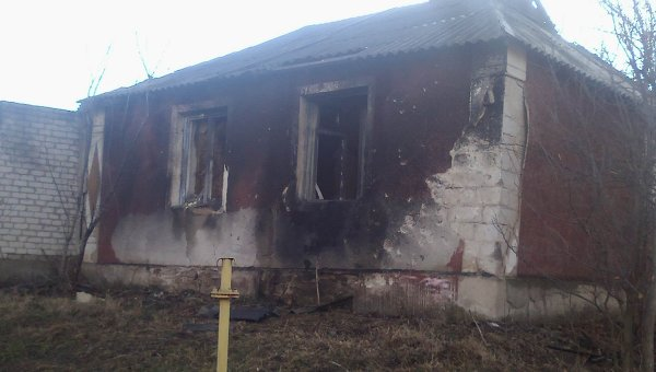 Ситуация в Крымском Луганской области. Архивное фото