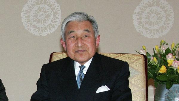Император Японии Акихито. Архивное фото