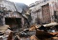 Восстановительные работы в Донецке. Архивное фото