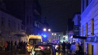 На месте взрыва в Харькове в ночь на 25 декабря