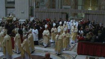 Папа Римский поздравил католиков с Рождеством. Видео
