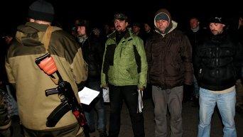Обмен пленными между ополченцами и силовиками состоялся в пригороде Донецка