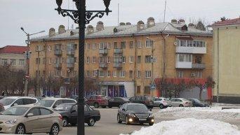 Город Снежинск в России