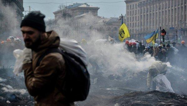 Протесты на Майдане. Архивное фото
