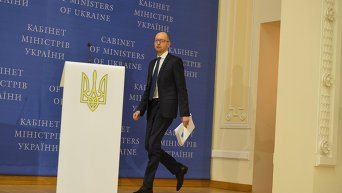 Пресс-конференция Арсения Яценюка, 30 декабря 2014