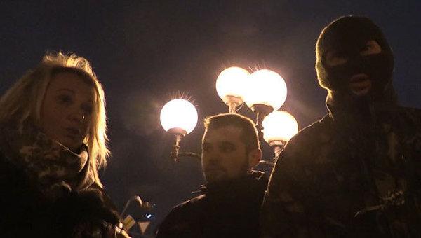 Журналисты LifeNews в Киеве