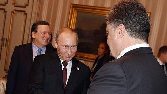 Встреча Порошенко и Путина в Милане