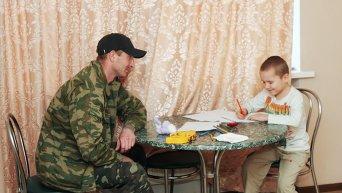 Повседневная жизнь бойцов ополчения Донбасса
