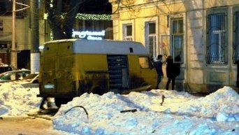 Взрыв в Одессе 4 января 2015