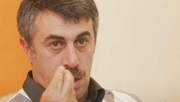 Евгений Комаровский. Архивное фото