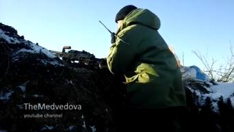 Бойцы АТО показали, как удерживают позиции возле аэропорта Донецка. Видео