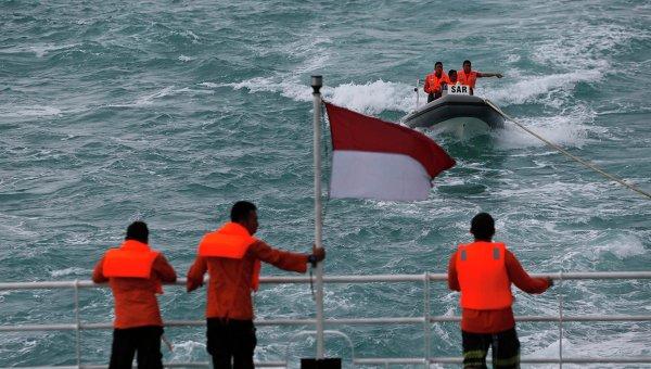 Крушение AirAsia, поисковая операция