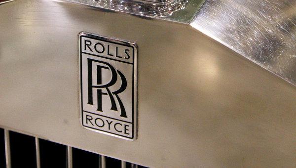 Эмблема автомобиля Rolls Royce