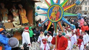 Рождественские мероприятия во Львове