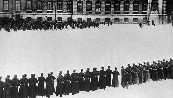 Расстрел рабочих в Петербурге 9 января 1905 года