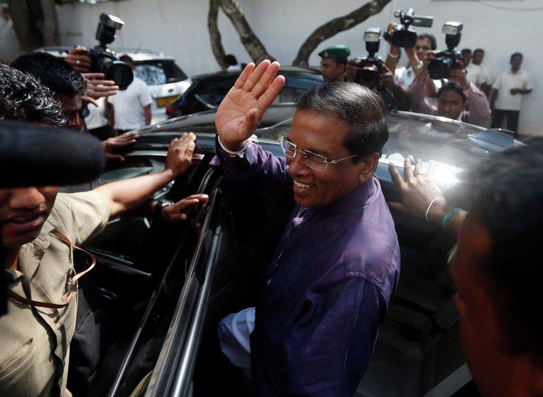 Президентские выборы в Шри-Ланке