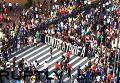 Массовая демонстрация в Бразилии закончилась жесткими столкновениями с полицией