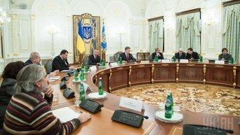 Заседание комиссии по избранию кандидатов на пост директора Антикоррупционного бюро