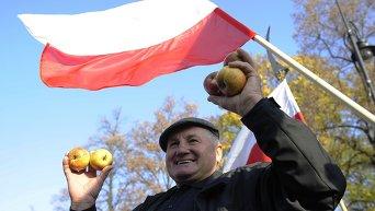 Польский фермер. Архивное фото