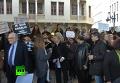 По всему миру прошли марши в знак солидарности с Францией. Видео