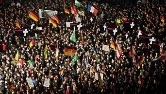 Акции протеста в Германии