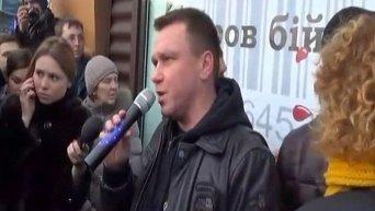 Автомайдан потребовал закрыть завод Roshen в Липецке. Видео