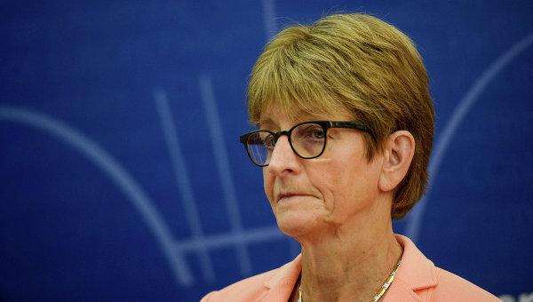 Председатель Парламентской ассамблеи Совета Европы (ПАСЕ) Анн Брассер