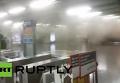 В метро столицы Чили произошло два взрыва. Видео