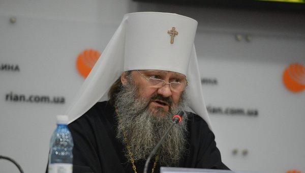 Наместник Святой Успенской Киево-Печерской Лавры Павел, митрополит Вышгородский и Чернобыльский