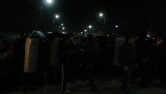 Столкновения в Гюмри. Видео