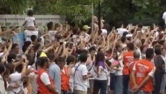 Папа Римский на Филиппинах призывает к милости и состраданию. Видео